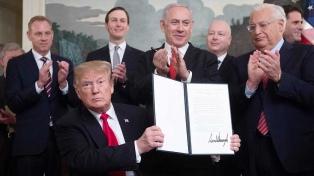 Trump, Netanyahu y los Altos del Golán