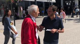 """La CC continúa con las recorridas para pedir a los argentinos que """"no pierdan las esperanzas"""""""