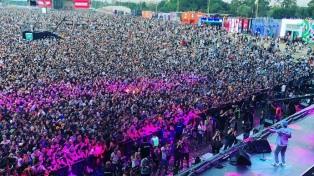 El rock pisa fuerte en el Lollapalooza con Fito Páez y The Foals