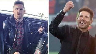 """Simeone: """"Messi necesita del equipo"""""""