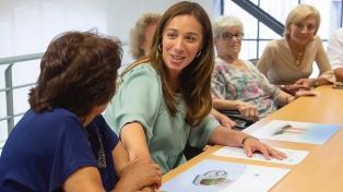 Vidal construirá un monumento para homenajear a madres de ex combatientes de Malvinas