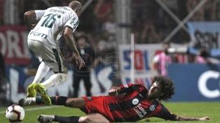 San Lorenzo le ganó a Palmeiras y lidera el grupo F