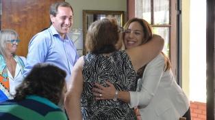 Vidal se reunió con platenses afectados por la inundación que causó 89 muertos en 2013