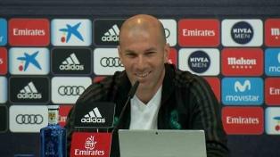 Zidane destacó la evolución del fútbol femenino