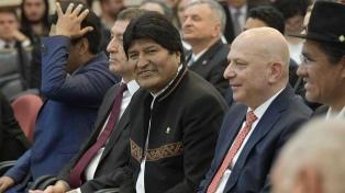 Morales anunció que Bolivia va a adquirir tecnología argentina