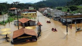 Tres muertos por un fuerte temporal en Río de Janeiro