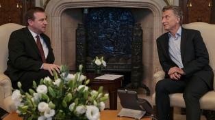 Macri se reunió con autoridades de ExxonMobil