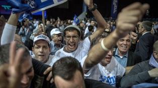 Evacúan a Netanyahu de un mitin electoral tras el lanzamiento de un proyectil desde Gaza