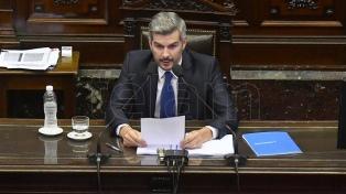 """Peña: """"Estamos seguros de que la Argentina va a avanzar hacia un lugar mejor"""""""