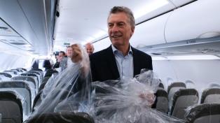 JetSmart comenzó a operar vuelos de cabotaje con un servicio inaugural a Mendoza
