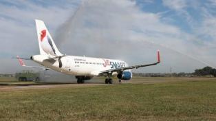 JetSmart inicia vuelos regulares en las rutas Neuquén-Salta y Mendoza-Tucumán