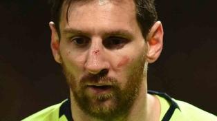 El estudio médico descartó que Messi tenga una lesión en la cara