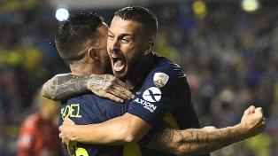 "Boca venció a Jorge Wilstermann y se ""acomodó"" en el grupo G"