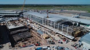 Prevén que en septiembre estará habilitada la nueva terminal del aeropuerto de Ezeiza