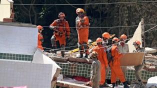 Derrumbe en una favela de Río: hay al menos 3 muertos y 17 desaparecidos