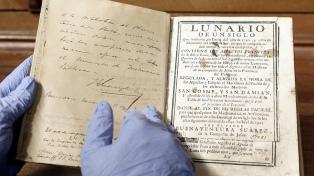 Obras de Cervantes y Newton, entre las joyas que está digitalizando la Universidad de La Plata