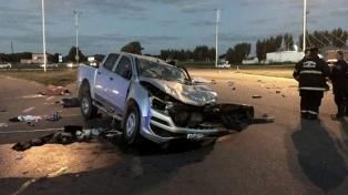 Ocho muertos al chocar dos autos en la ruta 7