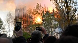 """Arquitecto que dirige la reconstrucción advirtió que la catedral """"todavía está en peligro"""""""