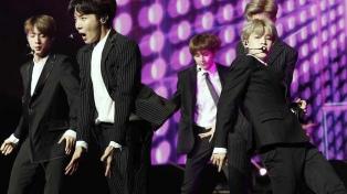 BTS, el primer grupo asiático en superar las 5.000 escuchas en Spotify