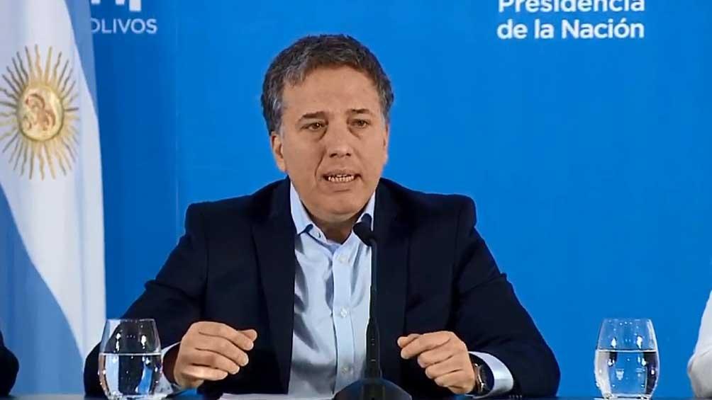 Dujovne anunció que ''fue positivo'' el balance fiscal del primer trimestre