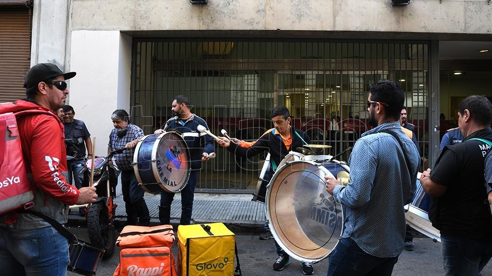Resultado de imagen para Rappi, Glovo y Pedidosya protestas
