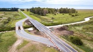 Habilitan el nuevo puente sobre el kilómetro 223 de la ruta 11, camino a la costa atlántica