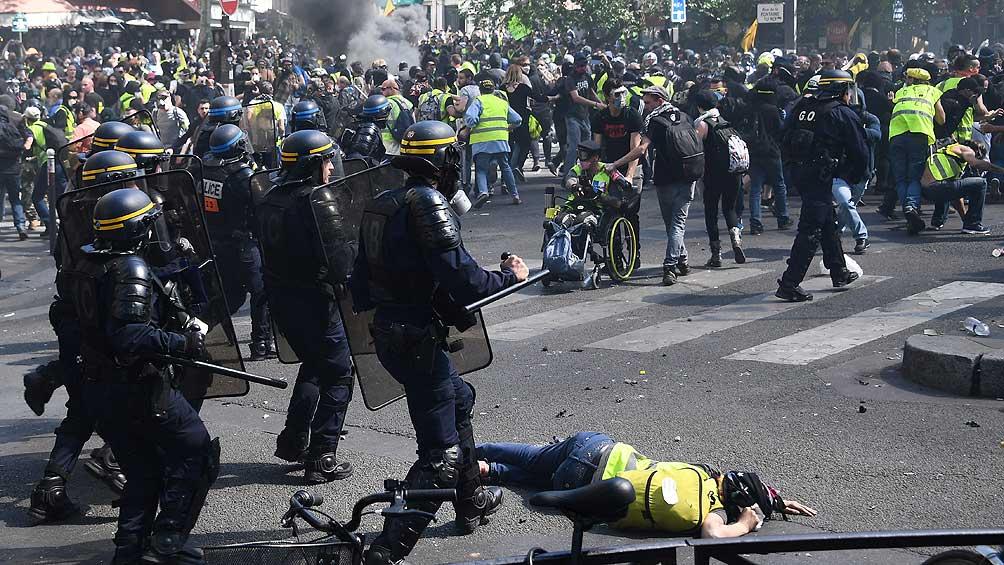 Arrestan a 30 personas durante una nueva protesta de los