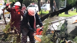 Lluvias intensas afectaron a varias localidades