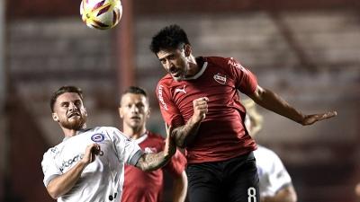 Independiente enfrenta a Argentinos en un difícil duelo