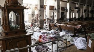 """Argentina expresa su """"enérgica condena"""" a los atentados en Sri Lanka"""