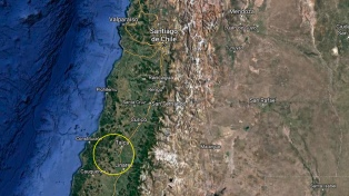 Un sismo de magnitud 5,2 en la escala de Richter sacudió la zona central