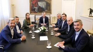 Macri repasó las medidas económicas con los gobernadores de Cambiemos