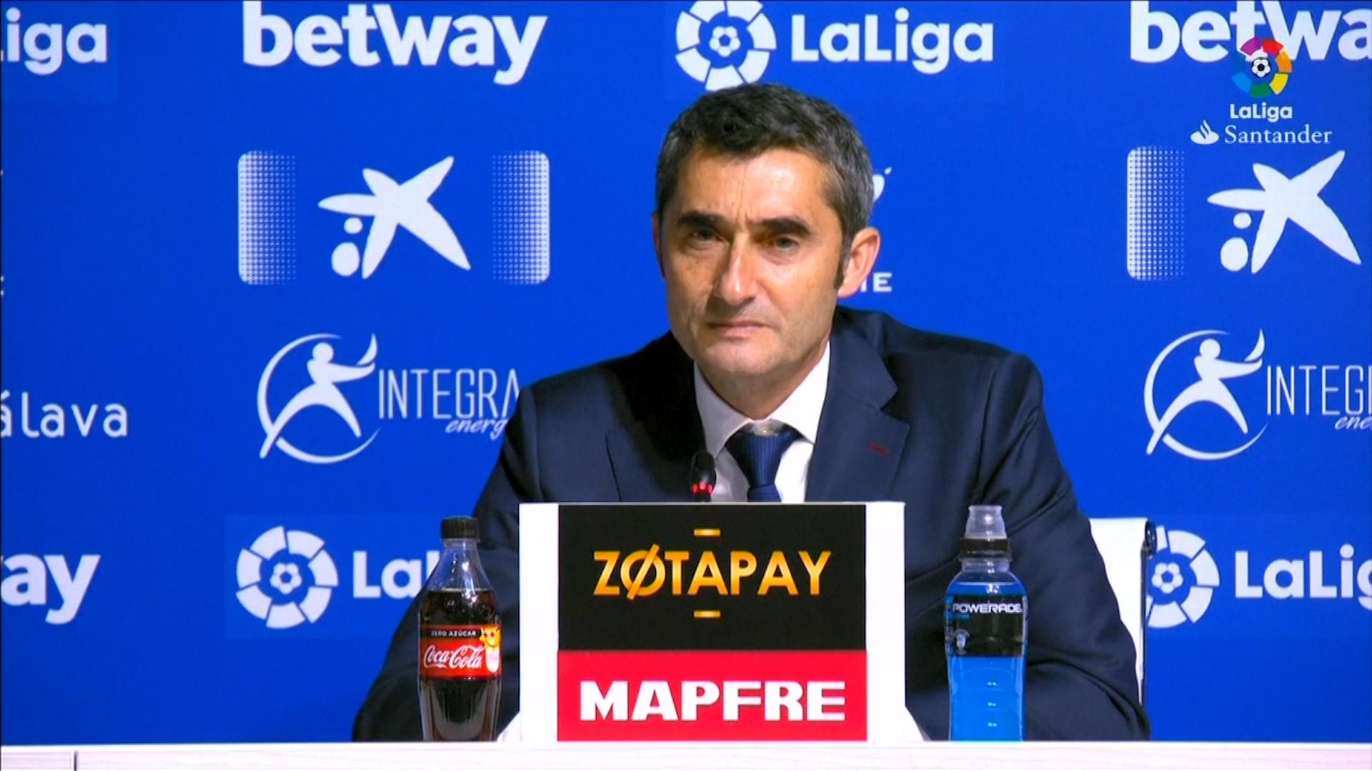 Valverde se despidió de los hinchas del Barcelona con una carta abierta