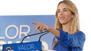 Una marquesa argentina, gran estrella de la campaña