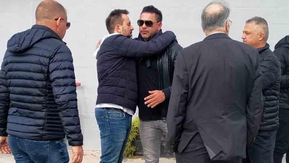 Mohamed se despidió de jugadores y dirigentes (foto: @CAHuracan)
