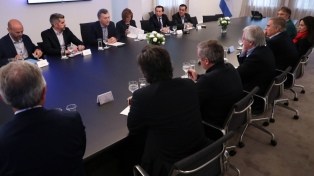 El Presidente le transmitió calma a sus ministros en Olivos