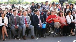 """""""Es un día histórico para la Iglesia y toda la Argentina"""", destacaron Michetti y Abriani"""
