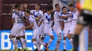 Vélez se quedó con el partido de ida ante Lanús