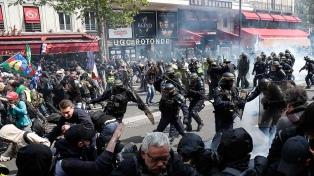 Más de 380 detenidos en la marcha por el Día del Trabajador