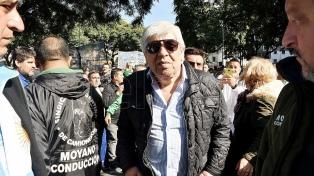 """""""Le pido al Presidente que deje de hacer gansadas y estupideces"""", dijo Hugo Moyano"""
