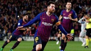 Un gol de Messi, nominado entre los mejores de la pasada temporada