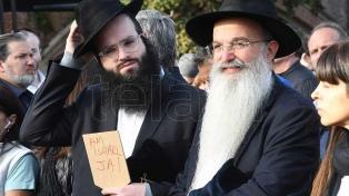 Se celebró la Marcha por la Vida en homenaje a las víctimas del Holocausto