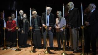 """La DAIA recordó el Holocausto judío y pidió """"transmitir el legado a los jóvenes"""""""