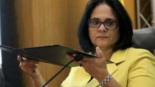 La ministra de Derechos Humanos denunció amenazas de muerte