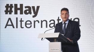 """Massa: """"Tengo respeto por Alberto Fernández"""""""