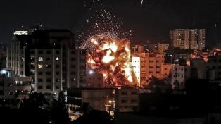 Repunte de la tensión entre Israel y Gaza, con disparo de cohetes y bombardeos