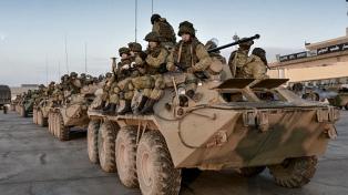 Fuerzas rusas patrullan la frontera norte tras el acuerdo con Turquía