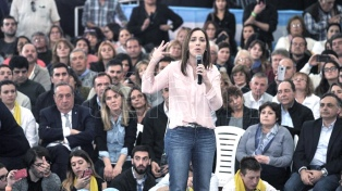 La gobernadora bonaerense viaja a apoyar la candidatura de Negri