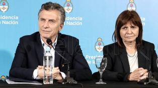 Macri visitó el Departamento de Policía tras operativo antidrogas