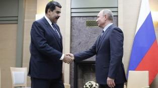 Putin aseguró que no están enviando tropas a Caracas